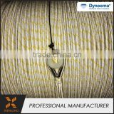 Braided high strength braid nylon safety Professional manufacture marine mooring rope reel