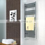 HB-R81 series bathroom hot water heated steel chromed ladder towel racks basic warmer towe rails radiator