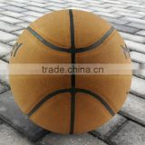 factory directly sale size 7 match quality PU basketball print with client's logo or design