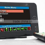 WV-7012HD 7 inch handheld HD wireless COFDM Coded Orthogonal Frequency Division Multiplex Receiver