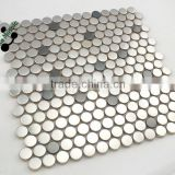 SMT06 Glass mosaic pictures Glass mirror mosaic pattern Modern bathroom tile
