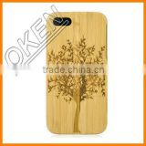 Durable Mobile phone Bamboo Wood Carving Phone Shell Case For Samsung galaxy S5 From Alibaba China