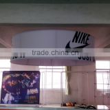 Custom Printed Trade Show exhibition tension fabric Ceiling Hanging banner Signs