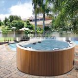 Hot Sale Sanitary ware jet air blower outdoor spa Tub Massage Spa with overflow China manufacturer