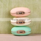 High quality home use rechargeable USB hand warmer with function of massage and vibration