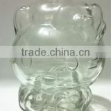 wholesale fancy decorative glass jars and bottles
