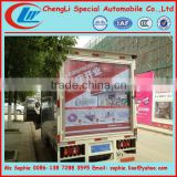 Forland advertisement truck,scrolling advertising trucks,advertising screen truck for sale