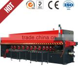 Four-axis High-Speed Numerical Control metal sheet Notching Machine,CNC metal plate v-cutting and 4000mm grooving lathe