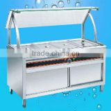 Electric Stainless Steel Hot Food Warmer/Buffet Server/Bain Marie/ Kitchen Equipment