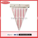 Colorful Flag Hanging Paper Garlands for Party Decoration