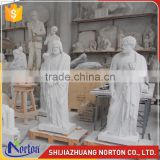 Western religious life size marble christian statue NTMS-R511A