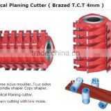 helical planing cutter head