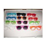 PC Plastic Fireworks 3D Glasses Disposable Colorful Frame Eco Friendly