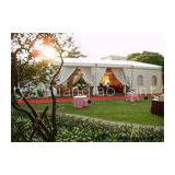 Aluminum Structure White Large Event Tents For Outside Party Reception