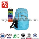 hot selling, Outdoor ultra lightweight Waterproof Travel Backpack, Foldable Shoulder backpack
