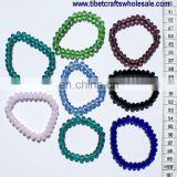 Bracelets Beaded with Color Crystals; Colors Handcrafted Tibetan Jewellery Products Sale