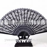 Hot Sale Attractive Lace Fan for Wedding Baby Shower Party Promotion Gifts