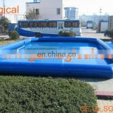 Funny inflatable swimming pool for family