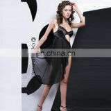 Beautys love sexy hot nightwear for woman black Transparent sleepwear With underwear Sexy Babydoll Sleep dress