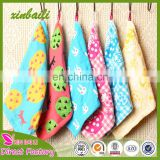 Wholesale 30*30 Super Soft Cartoon Gauze Cotton Hand Towel