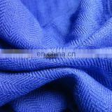 Worsted woven 140S/2*60S/1 herringbone silk wool fabric