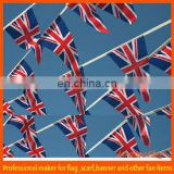 UK polyster triangle bunting banner