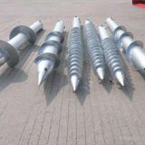 hot dipped galvanized ground screw helical screw anchor helical piles China