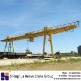 5ton eletric trolley double girder gantry crane box beam