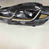 Golden LED headlight headlamp ASSY for Jaguar XJ 2016-2018 LHD C2D48969 C2D48961