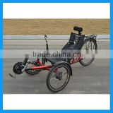 Two Front Wheel Folding Recumbent Trike For Adult