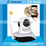 100% secure New Products Wireless Camera With Network Alarm CMOS Sensor Night Vision WIFI Home Security