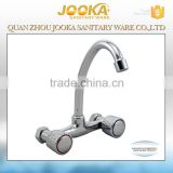 Wholesale Suppliers Dual Handle Kitchen Chrome 3 Way Water Ridge Kitchen Faucet
