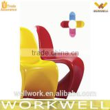 WorkWell hot sale plastic S shape chair chair KW-P01                                                                         Quality Choice