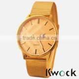 New fashion watch stainless steel mesh strap Rome micro-painted fashion watch quartz watch
