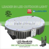 UL 480w Parking lot light led retrofit kits, E39 base led retrofit kits with 5 years warrranty