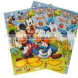 cartoon foam hologram sticker,sponge stickers