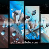 beautiful still life modern flower for wall artwork oil painting                                                                         Quality Choice