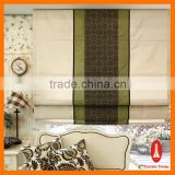 Curtain times double luxury fabric blind for restaurant roman shading