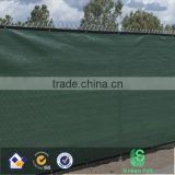 n Dark Green Fence Privacy Screen Windscreen Shade Cover Mesh Fabric (Aluminum Grommets) Home, Court, or Construction