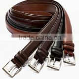 Mens Belt Genuine Leather Metal Buckle Jeans Casual Dress 40MM Wide