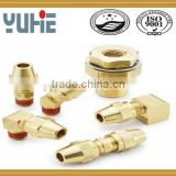brass brake nipple adapter fittings air brake fittings