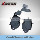 KRESH Grand Cherokee wk skid plate and protecting plate for engine, transfer case, oil pipe , fuel tank
