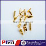 Brass spring Loaded PoGo Pin