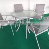 Mesh aluminum garden furniture malaysia set                                                                         Quality Choice