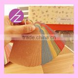 Pearlescent Paper Kraft Paper Bookmark SQ-23 from Haoze