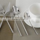 24pcs Handmade flatware gold-plated color Cutlery Set 9002