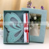 lovely green butterfly elegant scroll invitations plastic wedding invitation cards                                                                         Quality Choice