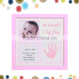 Handprint China best selling items photo frame for baby