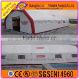 Large inflatable buildings, custom inflatable building tent, inflatable sport tent for advertising
