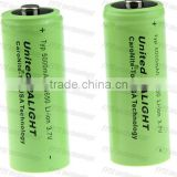 High energy Battery United Palight rechargeable li-ion battery 26650 Typ 5000mAh 3.7V Li-ion Battery